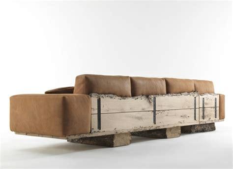 canapé bois design canape design en bois