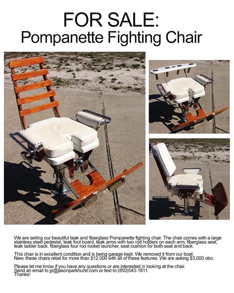 Pompanette Boat Chairs by Pompanette Fighting Chair The Hull Boating And