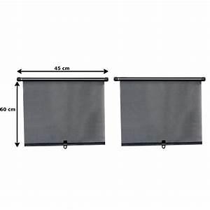 Chaussette Pare Soleil : 2 rideaux pare soleil enrouleur lat raux norauto 60 x 45 cm ~ Medecine-chirurgie-esthetiques.com Avis de Voitures