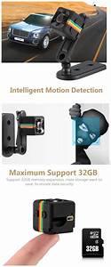 Original Mini Camera Sq11 Hd Camcorder Hd Night Vision
