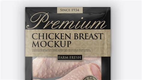 Tray mockup | 34+ creative free & premium psd & vector templates: Chicken Drumstick Vacuum Bag Packaging Mockup - https ...