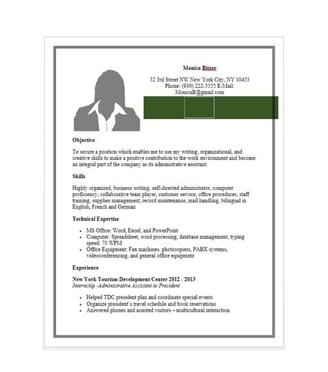 Administrative Assistant Resume Template Word by Free Administrative Assistant Resume Axiomseducation