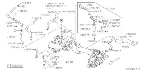 Subaru 2 5xt Engine Diagram by 11819aa001 Genuine Subaru Connector Complete Pcv