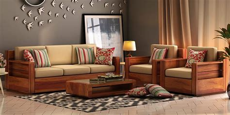 Indian Wooden Sofa Set Designs by Wooden Sofa Set Buy Wooden Sofa Set In India Upto