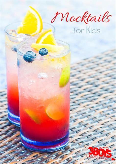 Mocktails For Kids  Nonalcoholic Cocktails Easy