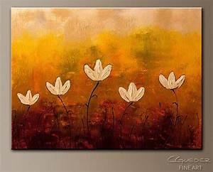 Touch of Nature-Abstract Art|Modern Original Canvas ...