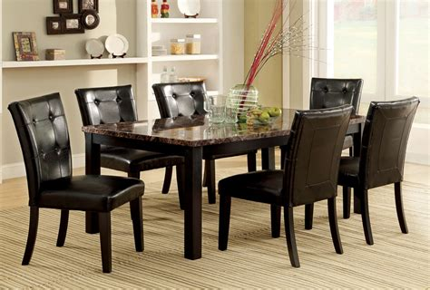 marble breakfast table sets faux marble top dining table set marble table