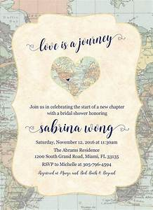 best 25 travel bridal showers ideas on pinterest With travel themed wedding shower invitations