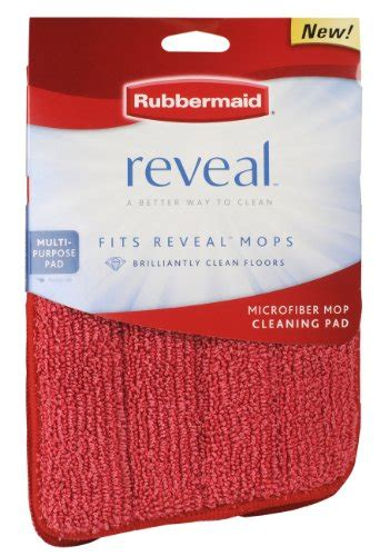 rubbermaid reveal spray mop replacement wet mopping