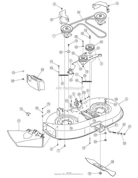 troy bilt bronco drive belt diagram troy bilt 13an77tg766 pony 2006 parts diagram for deck