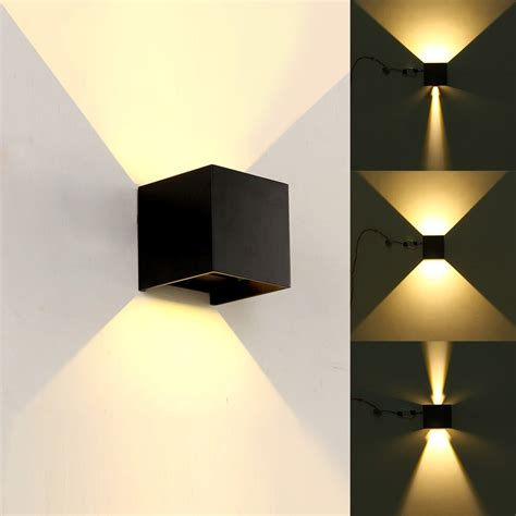 led outdoor wall sconce porch up down light fixtures