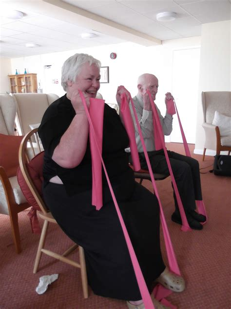 new chair based exercise class for haverhill live well