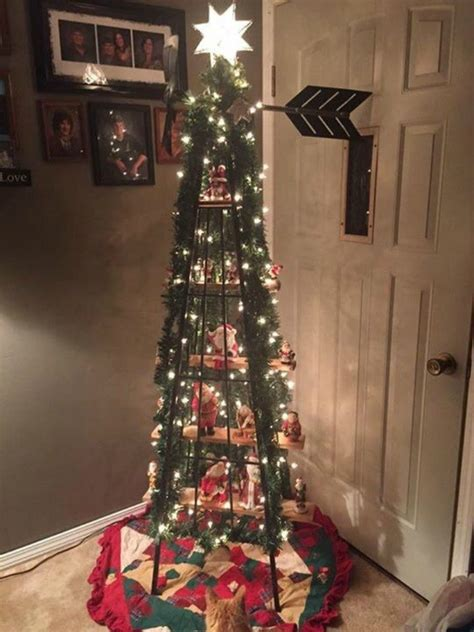 forget  traditional christmas tree