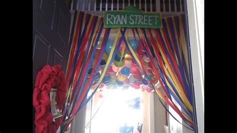 Elmo Birthday Party Decorations-diy