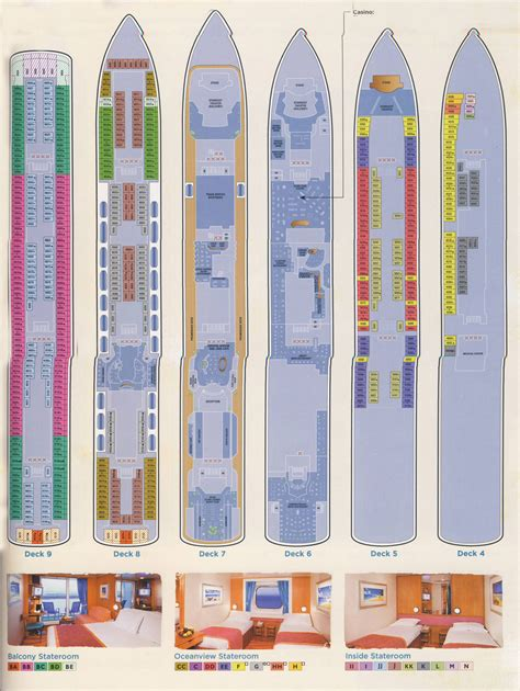 Ncl Pearl Deck Plan by Deck Plan