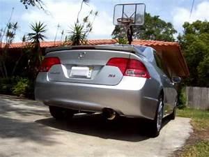 2008 Honda Civic Si Skunk2 70mm cat-back exhaust (1) - YouTube