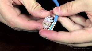 How To Make Rj45 Network Patch Cables