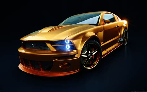 mustang car coolest cars car tech
