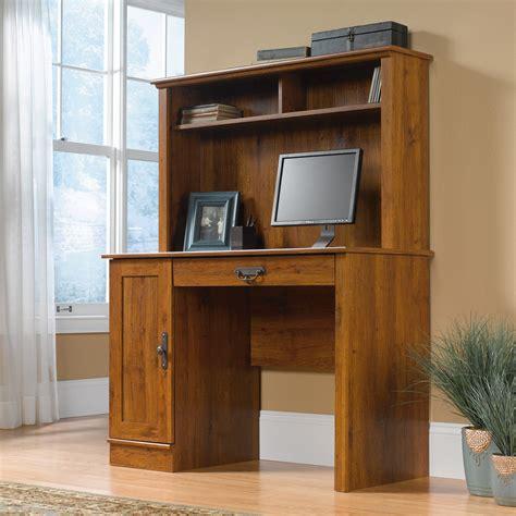 home computer desk with hutch sauder 404961 harvest mill computer desk with hutch atg