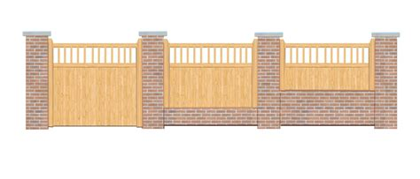 5ft High X 6ft Wide Fence Panel The Baywood