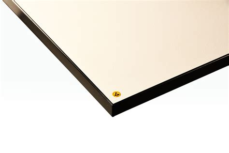 anti static workbench replacement top dissipative laminate