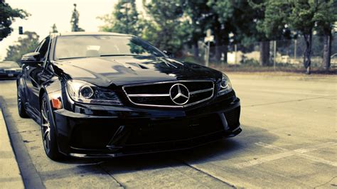 Black Mercedes Benz Hd Wallpaper