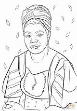 Coloring Printable Sheets Power Month History Huffpost Refugees Angelou Maya Famous National sketch template