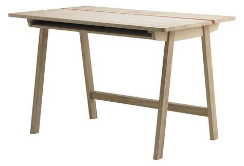 bureau 120cm landa desk l 120 cm 120 x 70 5 cm oak by alki