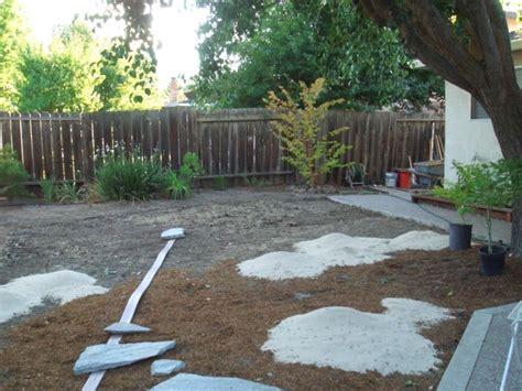 backyard ideas no grass bl backyard landscaping ideas no grass