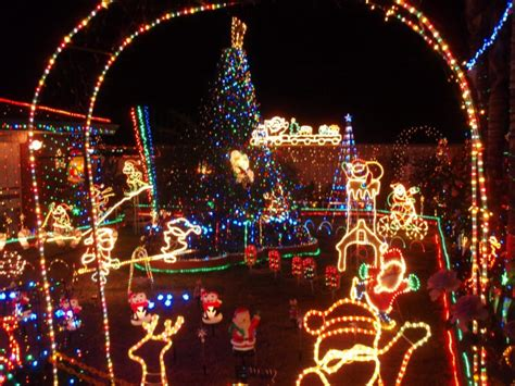 christmas lights in perth