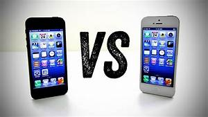 iPhone 5 Black vs iPhone 5 White (Should you buy the ...
