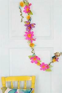 Spring, Flower, Paper, Garland