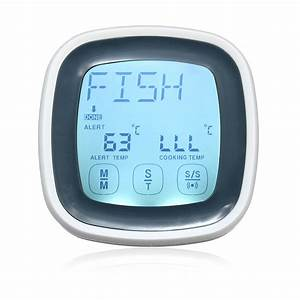 Augienb Digital Thermometer For Oven Digital Lcd Display