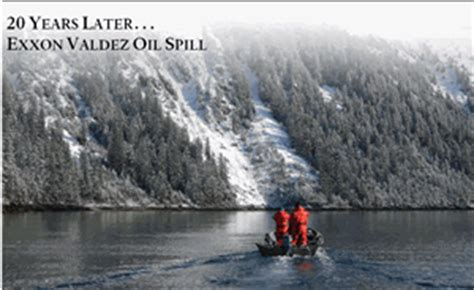 years  exxon valdez oil spill kenai fjords