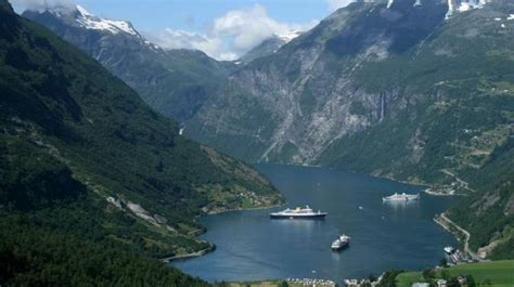 Fjord Depth by Cruise The Norwegian Fjords In Depth Troms 248 To Bergen By