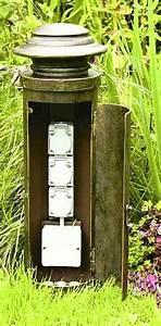 Steckdosen Im Garten : steckdosen au en f r au enbereich garten und terrasse gro e auswahl ~ Orissabook.com Haus und Dekorationen