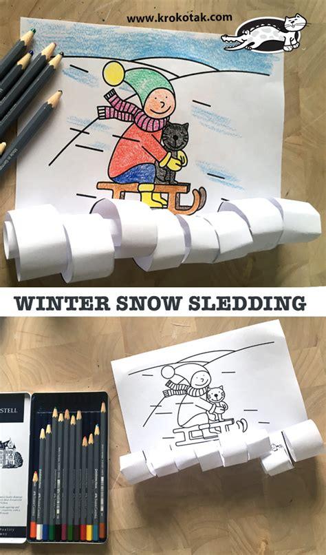 krokotak winter snow sledding