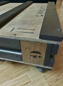 Table Basse Caisse Bois : table basse caisse industrielle mobilier design d coration d 39 int rieur ~ Nature-et-papiers.com Idées de Décoration