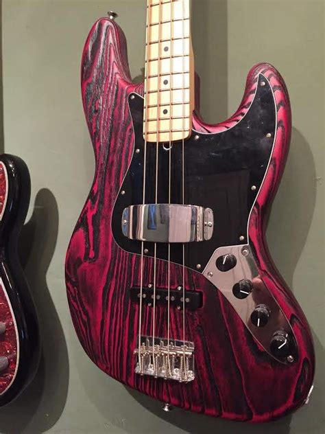 Sold Fender Sandblasted Jazz Bass With Aguilar Upgrades