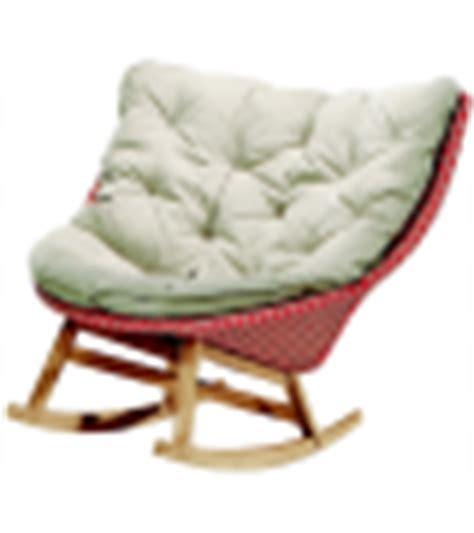 mbrace dedon rocking chair milia shop
