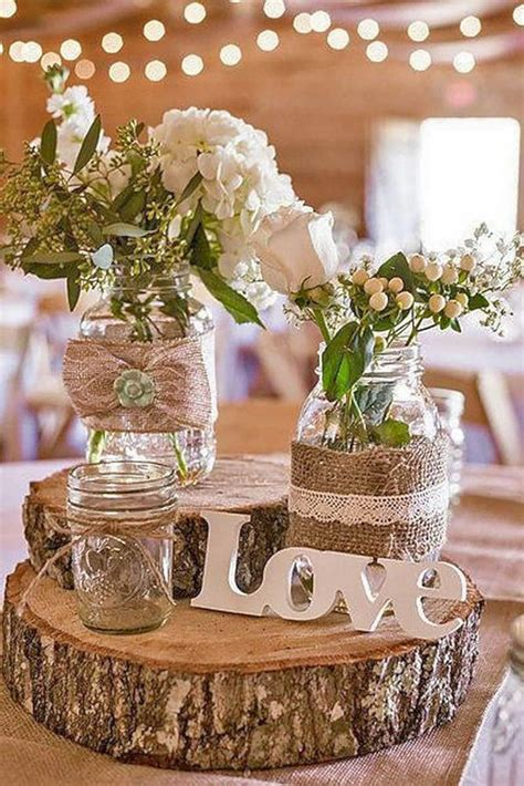 diy rustic country wedding decoration 26 oosile