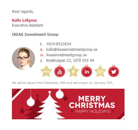 beautifully crafted inspiring email signature examples