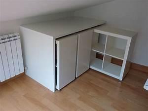 Möbel Dachschräge Ikea : a library on wheels ikea hacks ikea m bel und dachschr ge nutzen ~ Orissabook.com Haus und Dekorationen