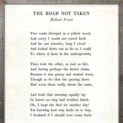 sugarboo designs  road   poetry collection sign