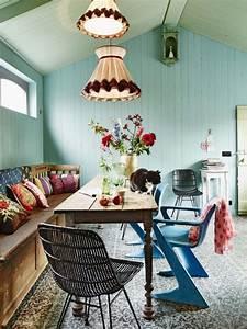 Boho, Style, Dining, Room