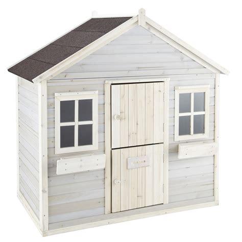 cabane de jardin enfant cabane de jardin enfant grise lola maisons du monde