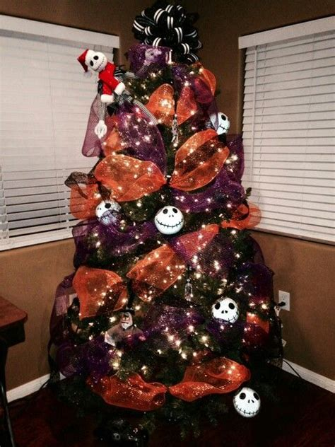 nightmare before xmas tree ideas trees nightmare before and before on