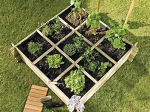 le potager en carres mon jardin ma maison With comment amenager un petit jardin 4 creer un potager