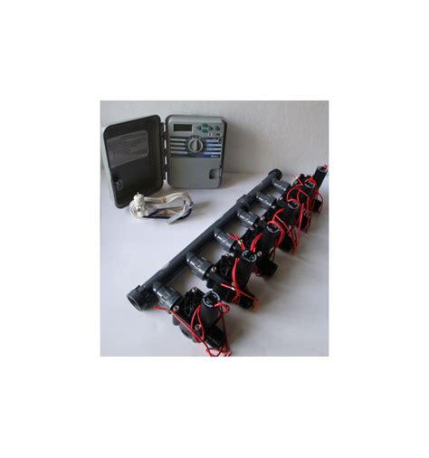 kit con 6 elettrovalvole programmatore xch sensore pioggia