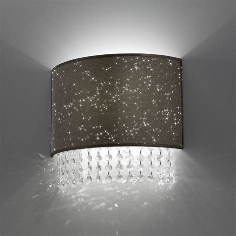 Applique In Cristallo by Lada Applique Moderno Cristalli Glitter Antea Luce